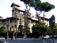 fantastischer jugendstil in rom