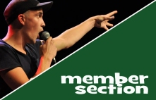 Member section poetry slam