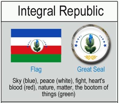 Flagge Infostreifen Anfang